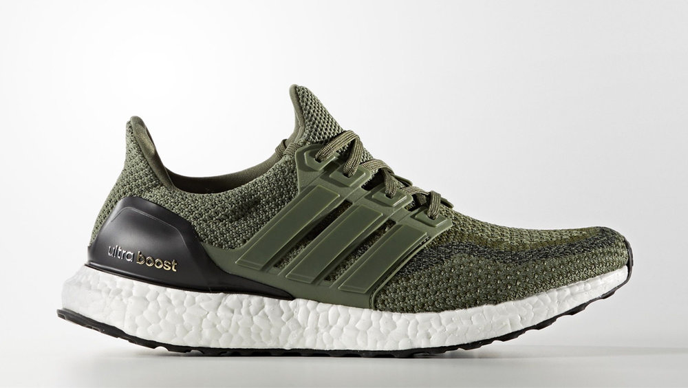"Adidas Ultra Boost ""Base Green"""