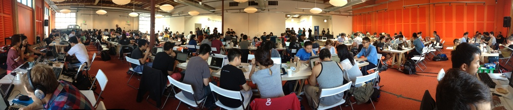The inaugural YCHacks!