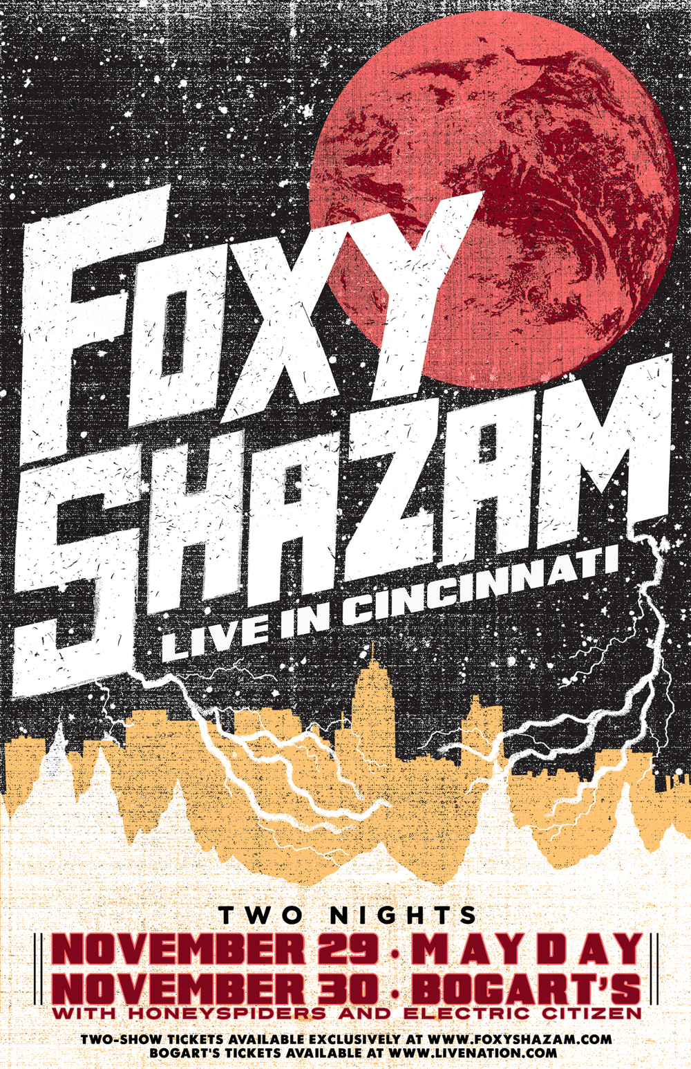 Foxy Shazam Electric Citizen Band