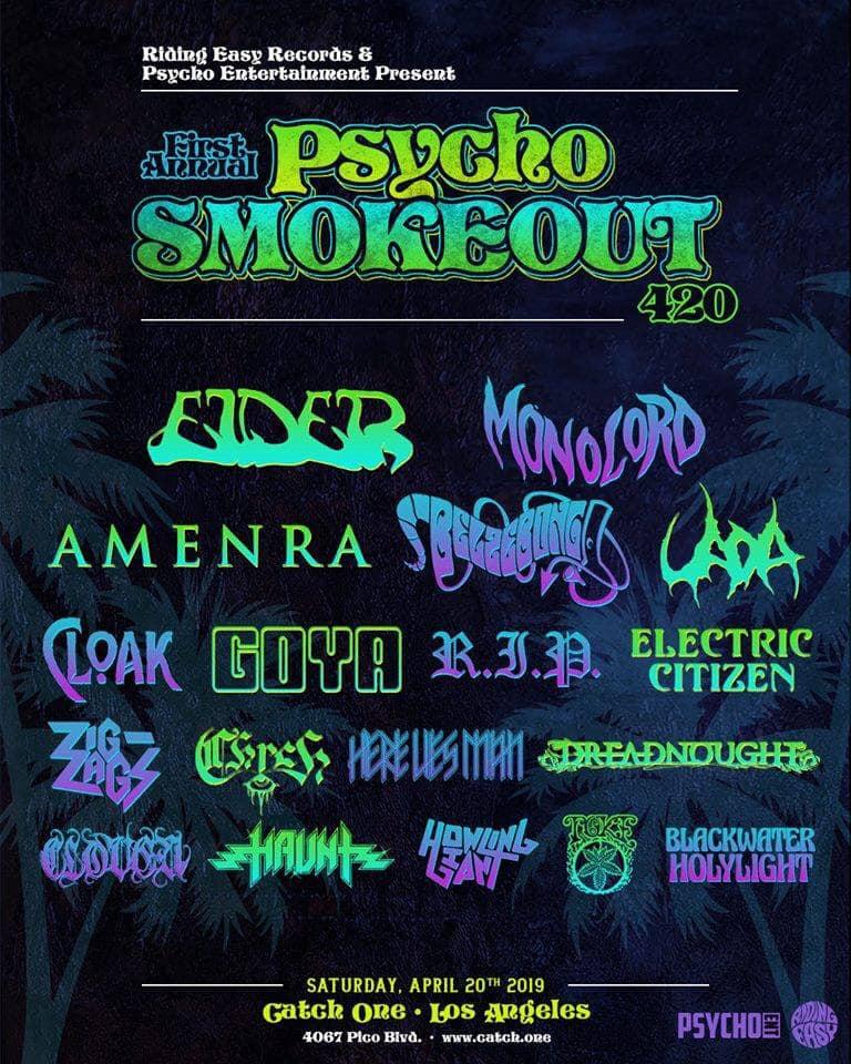 Electric Citizen Band Psycho Smokeout 420 2019