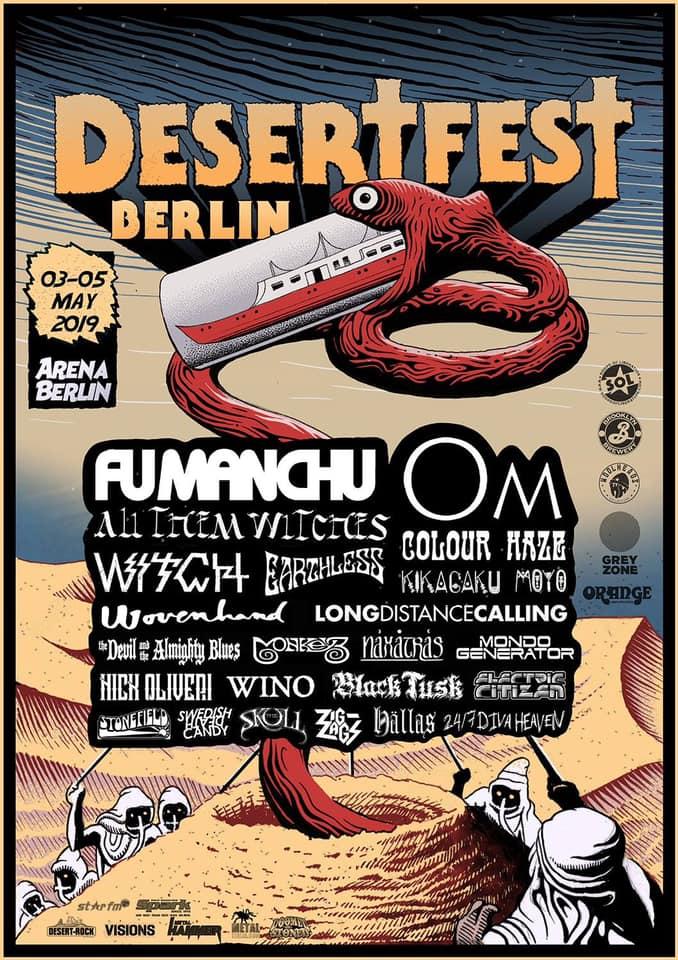 Electric Citizen Band Desertfest Berlin 2019