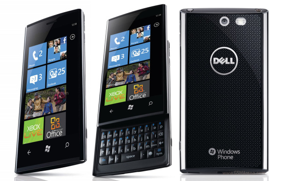 Dell Venue Pro, running Windows Phone 7.5