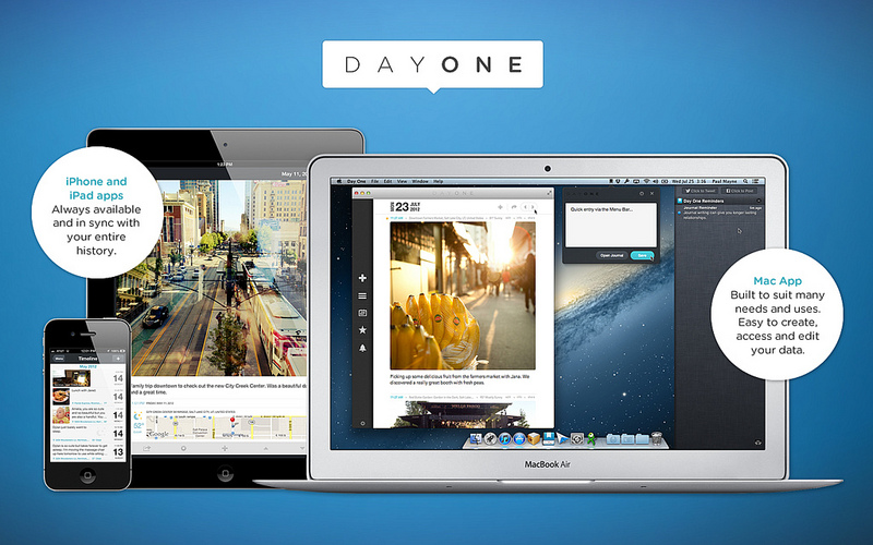 Day One for iPhone, iPad, and Mac