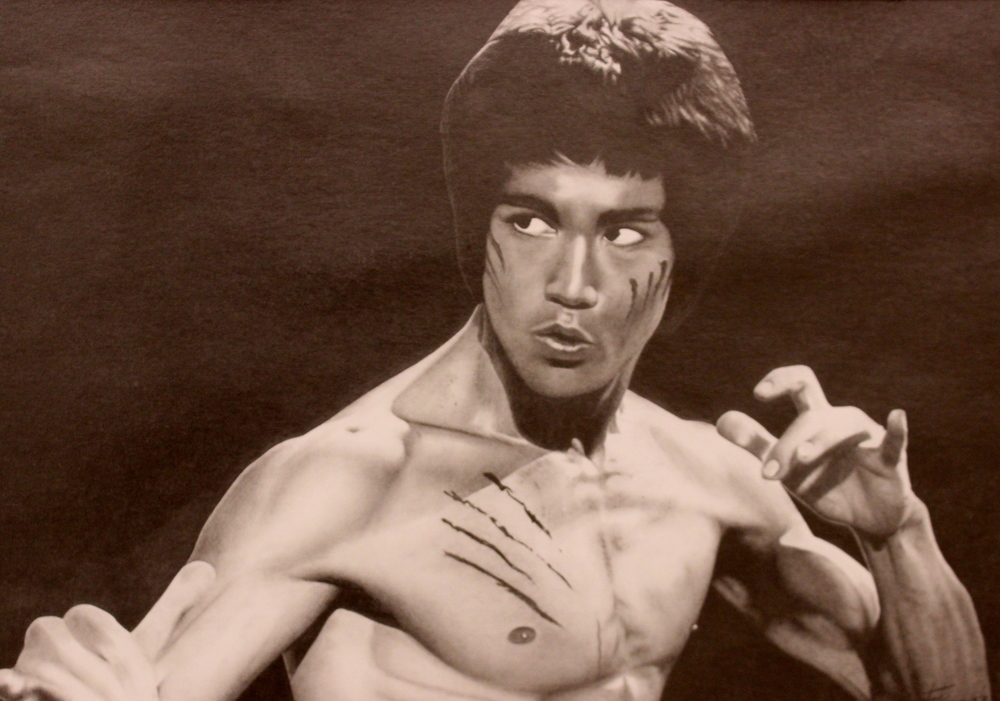 Bruce Lee by Sontae  I've been drawing for many years and prefer graphite for a medium. Every time I draw a piece, I'm learning more about the limitless ways to use graphite. I would recommend anyone that is interested in the arts to pursue it with graphite.