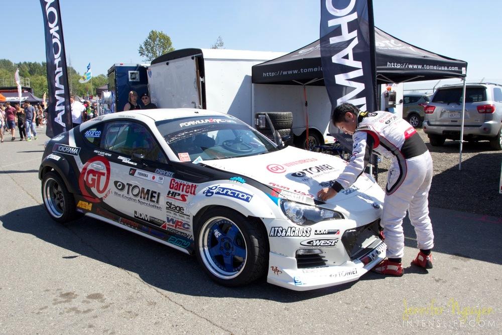 2013 GT-NET Tomei Subaru BR-Z | DRIVER: Toshiki Yoshioka