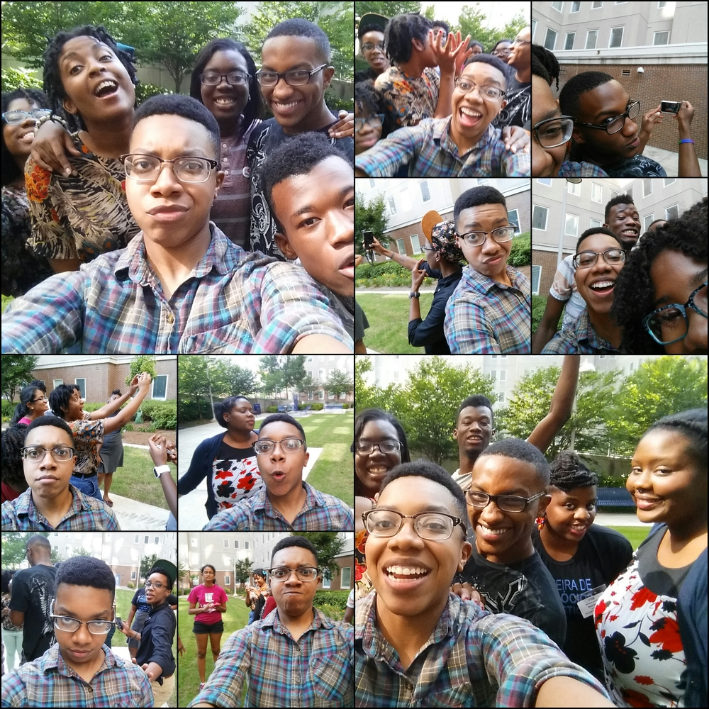 Beautiful humans doing amazing things. SPARK Media Justice Camp QP 2014