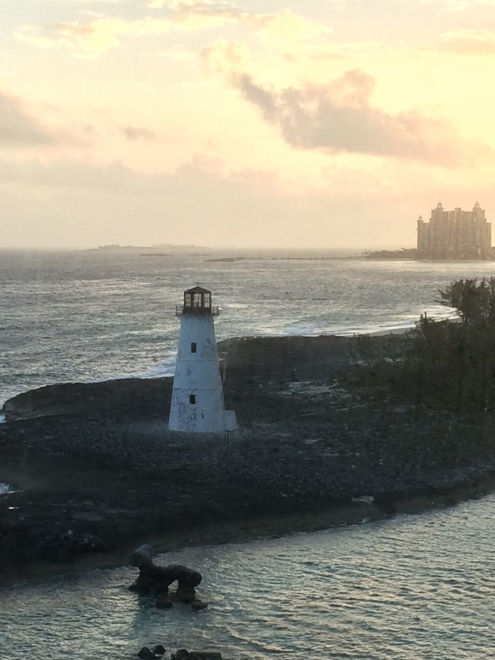 Loving unconditionally and having boundaries are not mutually exclusive. Here's a lighthouse being a beacon and sitting right on a boundary. Unconditionally beaconing away no matter what side of the boundary you're on. (Taken in Nassau.)
