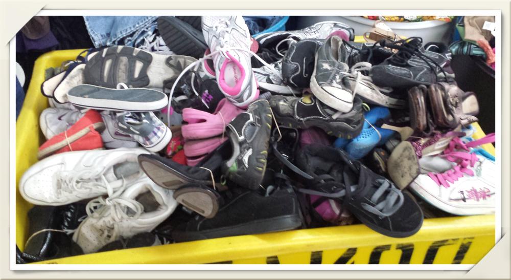 Used Shoes Wholesale — Bulk Used Clothing