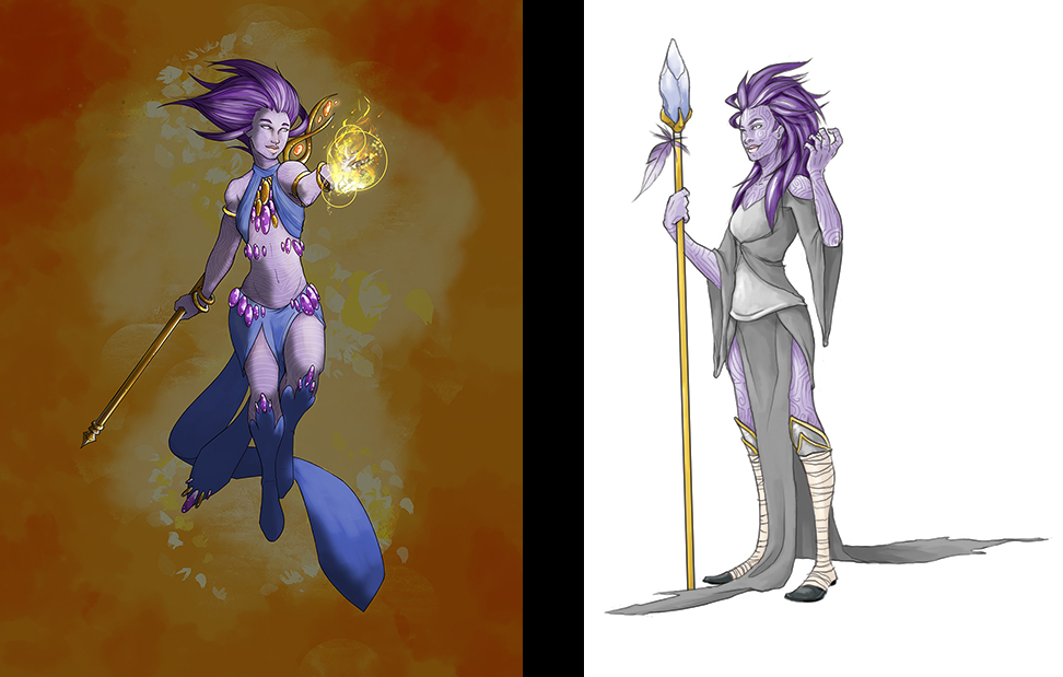 A side by side for the new and old drawing.