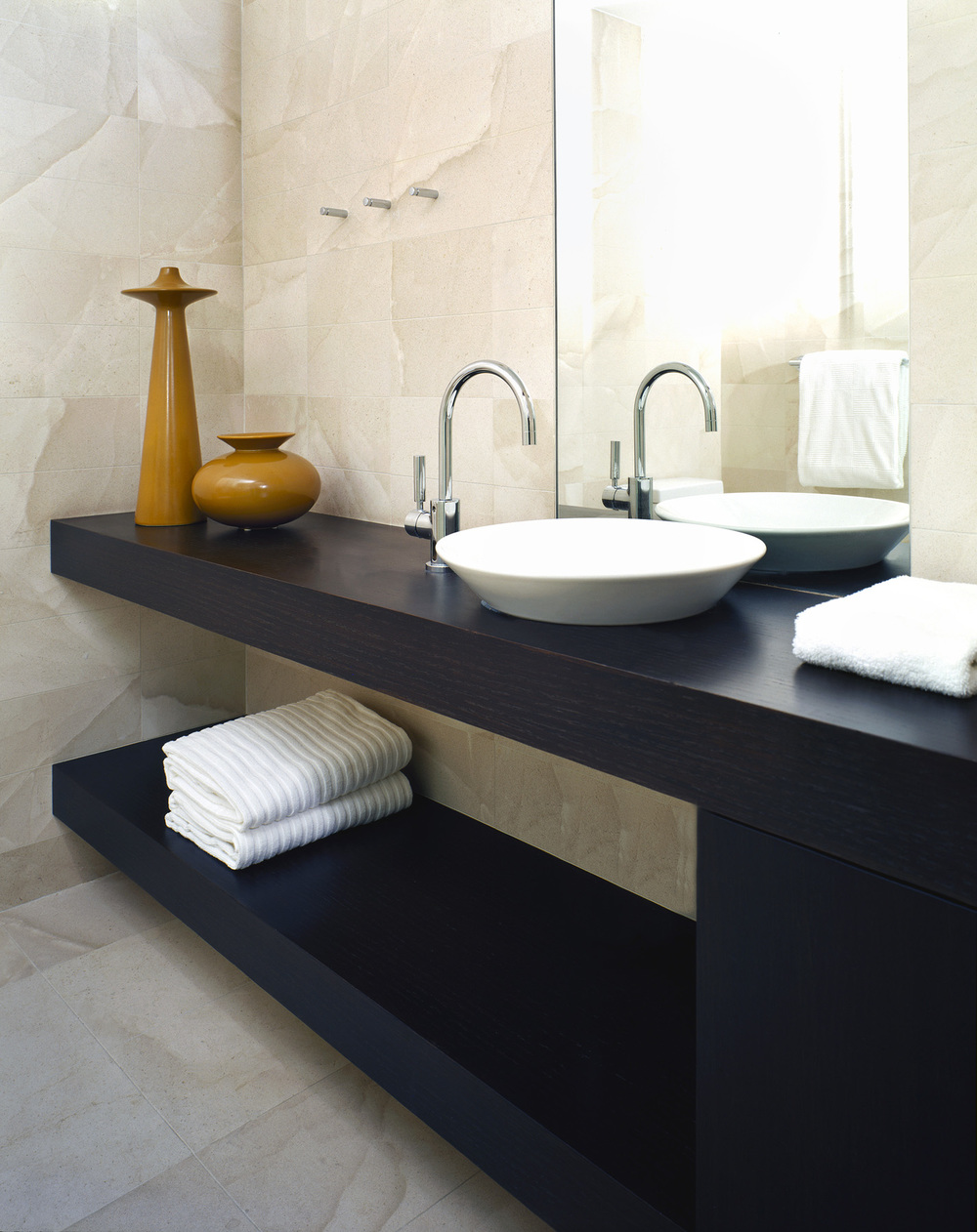 Modern Powder Bathroom