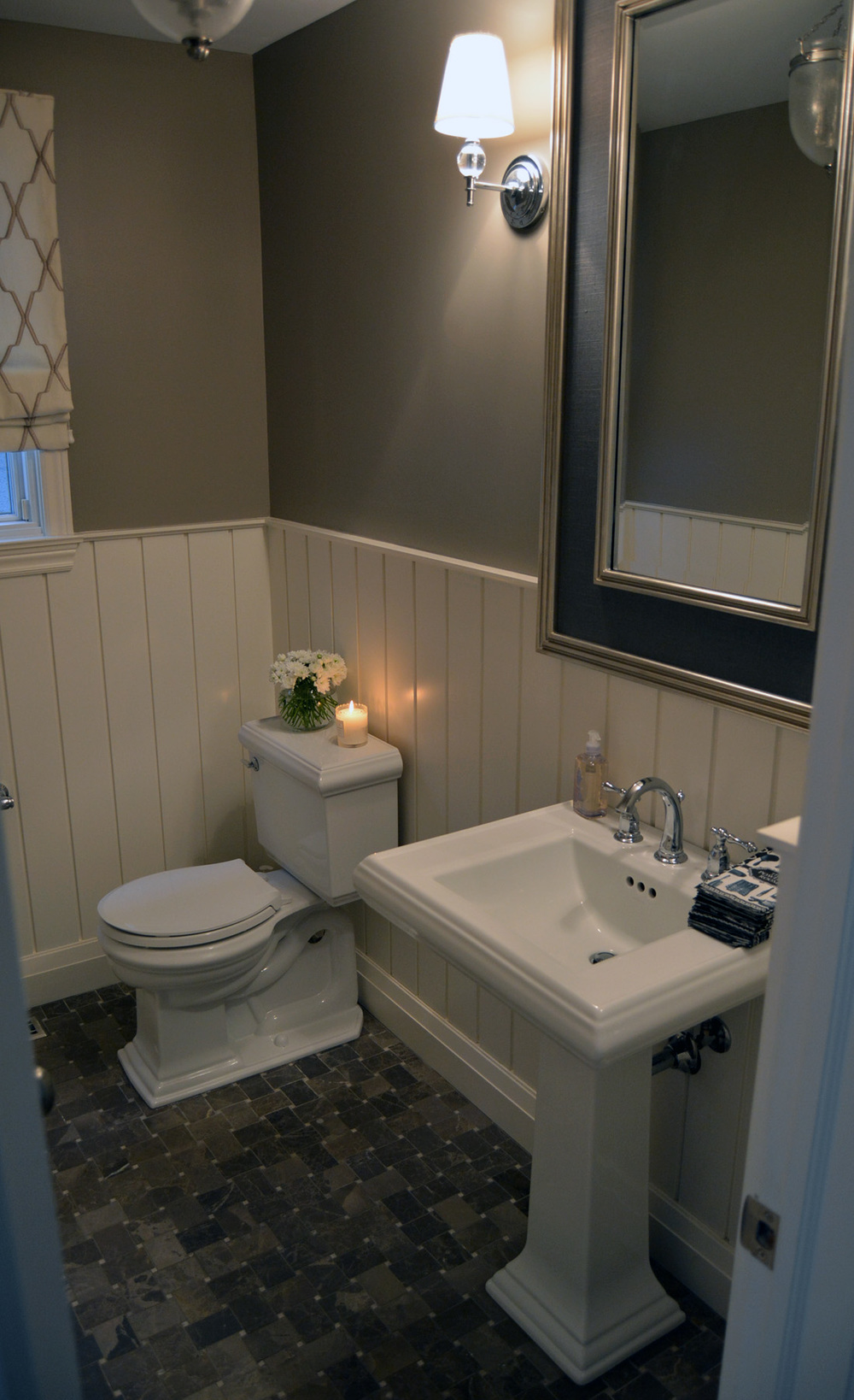 Traditional Powder Bathroom
