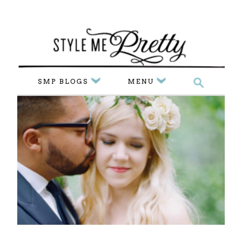 Featured on Style Me Pretty NYC Weddings