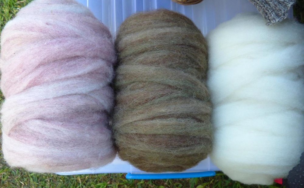 Shropshire roving from Granite Haven