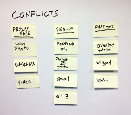 GV Conflicts Example