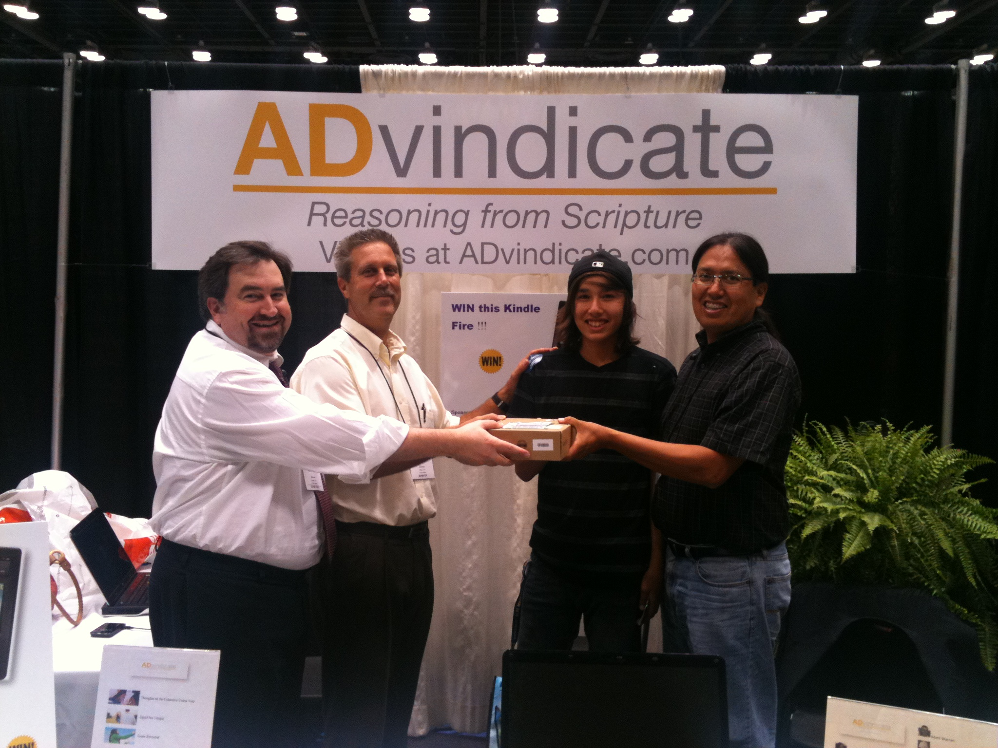 ASI Convention 2012 - Kindle Winner