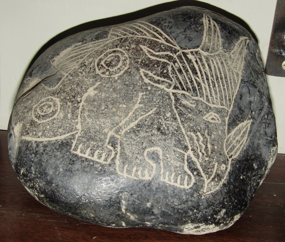 Are the ica stones evidence that humans and dinosaurs
