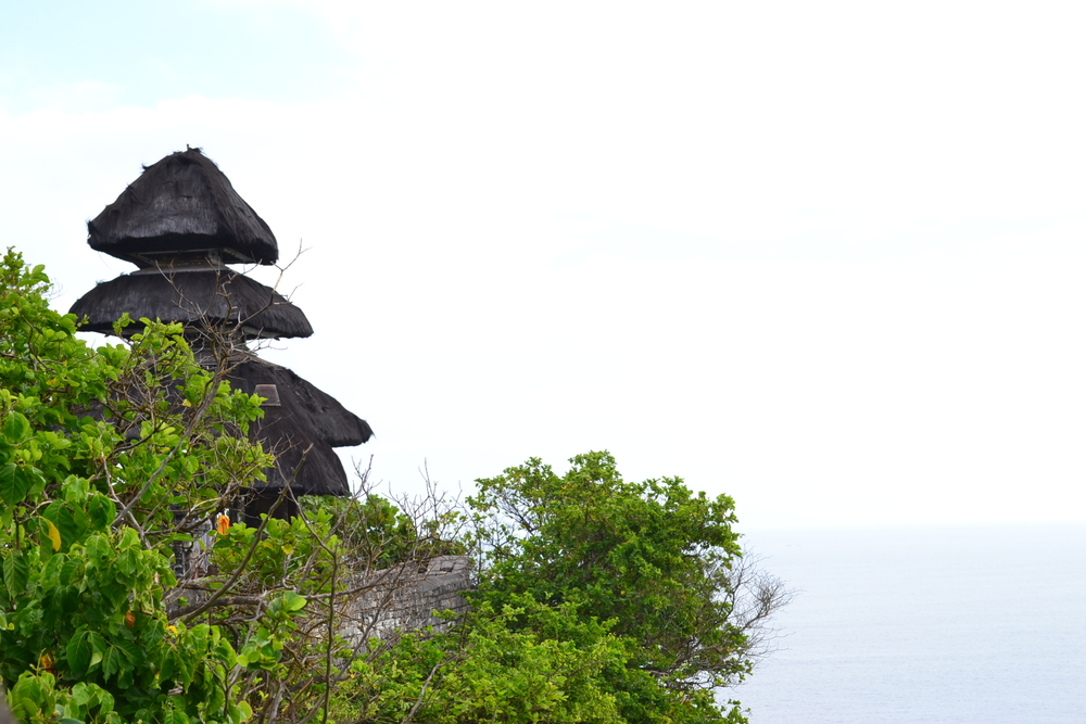 Photo of the temple at Uluwatu.