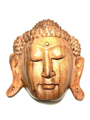 Buddha Hand Carved Wall Art Carving at BaliBoutiqueOnLine