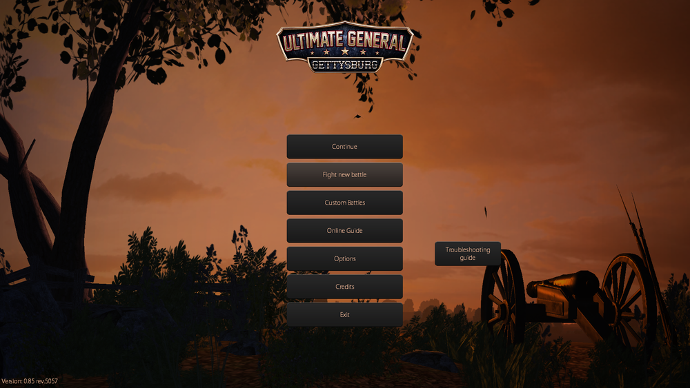The colors of the 3D animated menu are improved to fit the art style of the game.