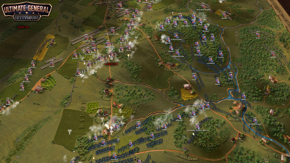 Ultimate general ultimate general gettysburg was the first game of the series it became available in steam early access on 1262014 and was fully released on 15102014 gumiabroncs