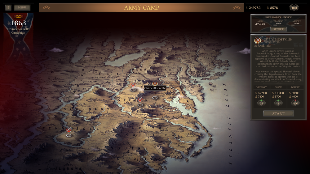 military strategy games for android