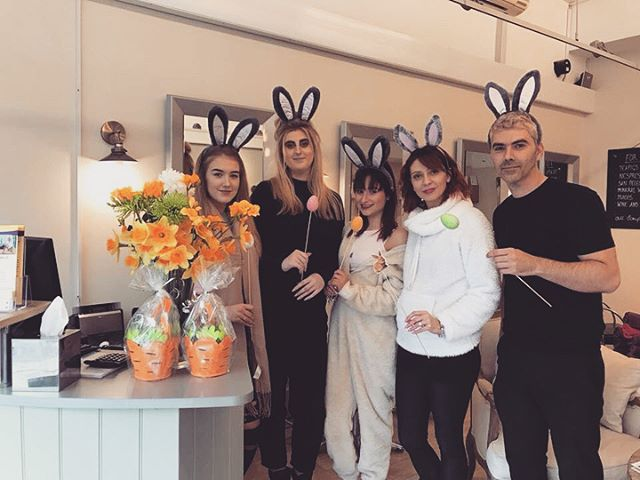Happy Easter everyone from the The Cutting Room Radlett. Enjoy the long weekend we will back as normal on Tuesday🐰🐣 #lovehair #loveyoursalon #hairdresser ##easterhair #hairstylist #radlett #newhair  #saveyourhair #salons #hertfordshire