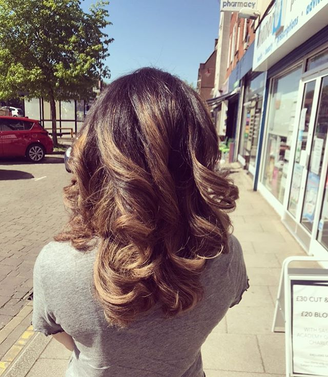 Balayage by our senior stylist Mandy! #radlett #hair #colour #balayage #loveyourhair #hairdressing #lovemyhair #thecuttingroom #bookin