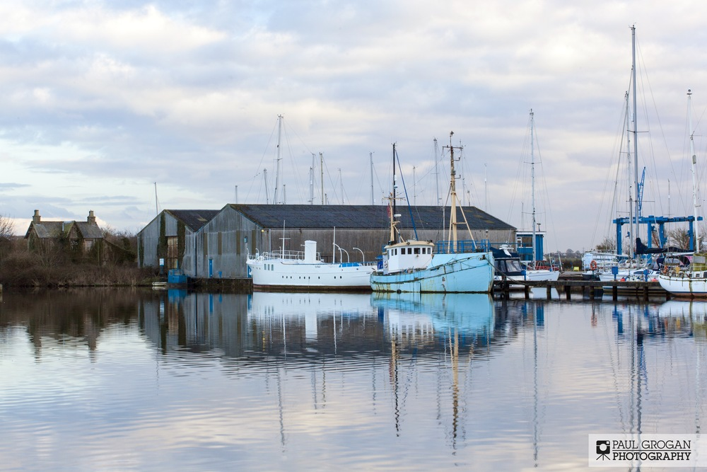 Glasson Dock Marina - Copyright 2014 Paul Grogan Photography