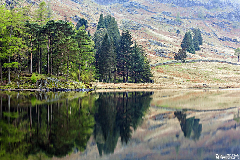 The scenery in the Lake District is stunning and even better when wether permits stillness like this on the Tarn which is perfect for mirrored reflections