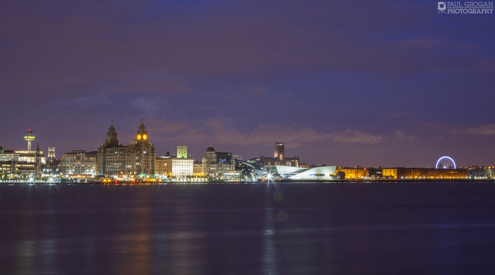 You can really see the history of Liverpool through to modern developments.