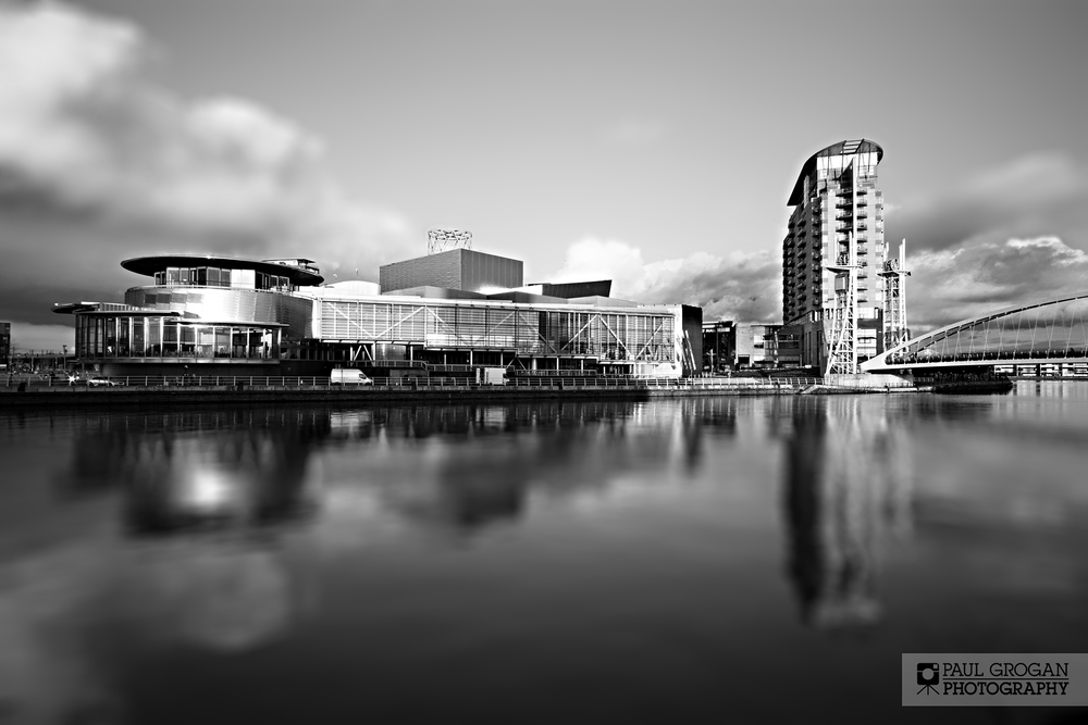 A theatre, gallery and conference centre, the Lowry was opened in 2000 and named after the early 20th century painter, L. S. Lowry.