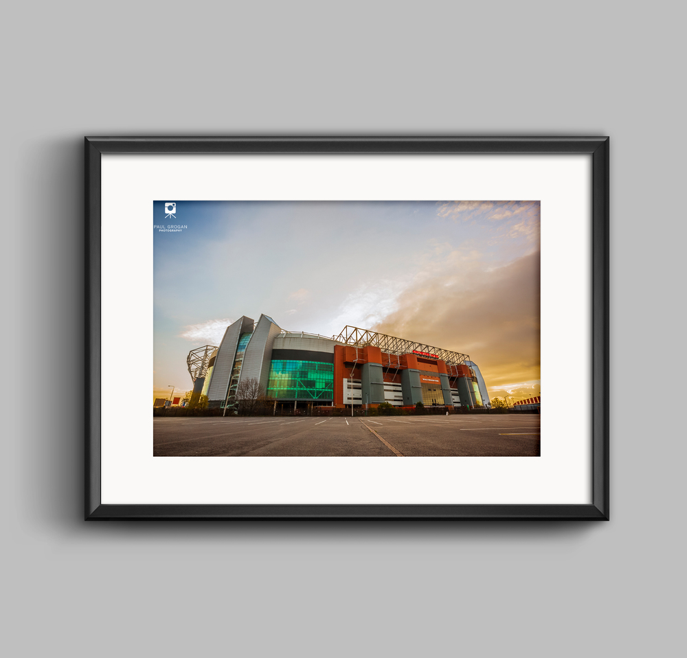Commercial Lighting Manchester: Home Of Manchester United, Old Trafford Landscape Photo