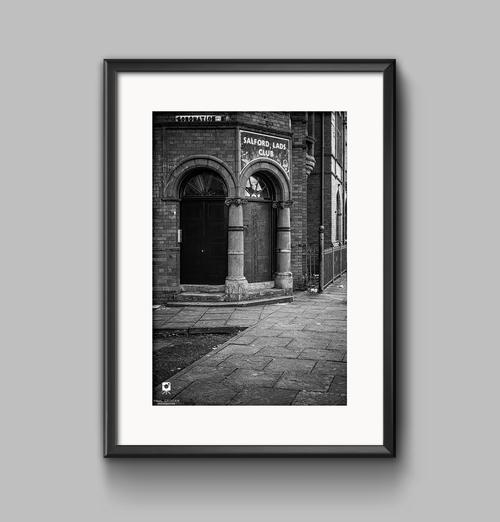 Salford lads club black white premium photographic prints