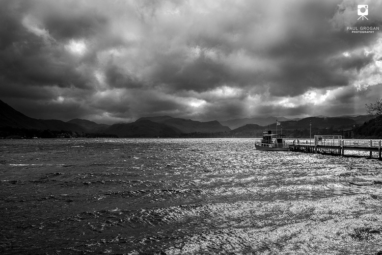 Ullswater Steamer, Lake District Steam Boat Photographic Prints