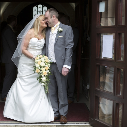 Tina and Derek, St James Church, Bury