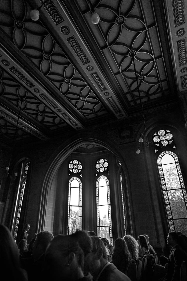 Anita and Andy, Manchester Town Hall