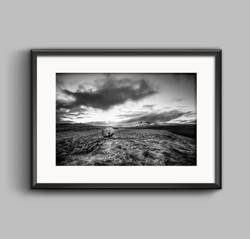 Ingleborough mountain a yorkshire landscape photograph