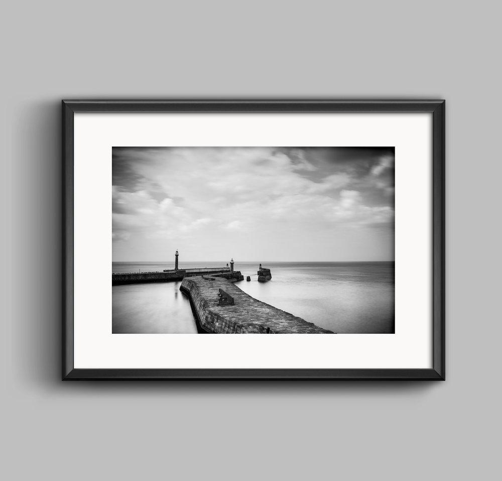 whitby harbour yorkshire landscape photograph