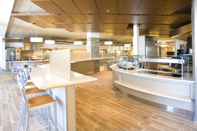 newly renovated Valentine Dining Hall
