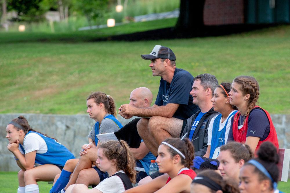 Dartmouth Wheaton soccer ID camp Massachusetts