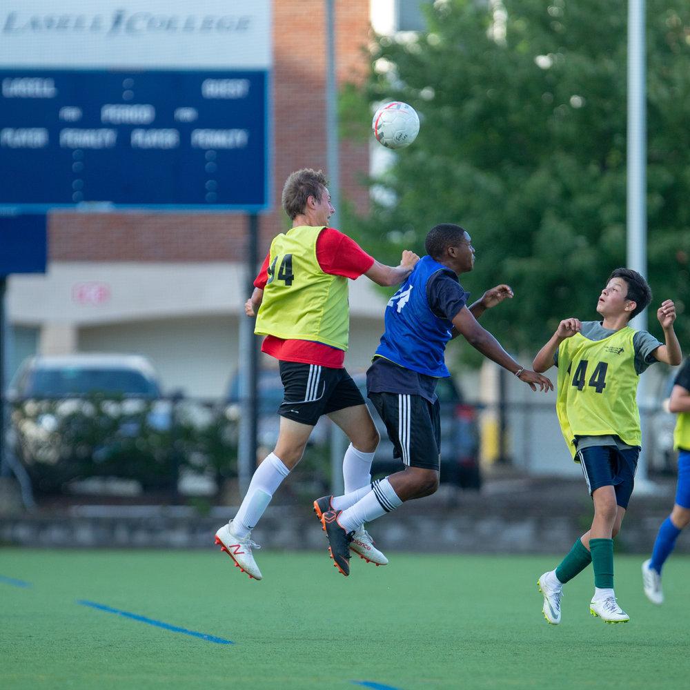 Boys Northeast ID soccer summer training