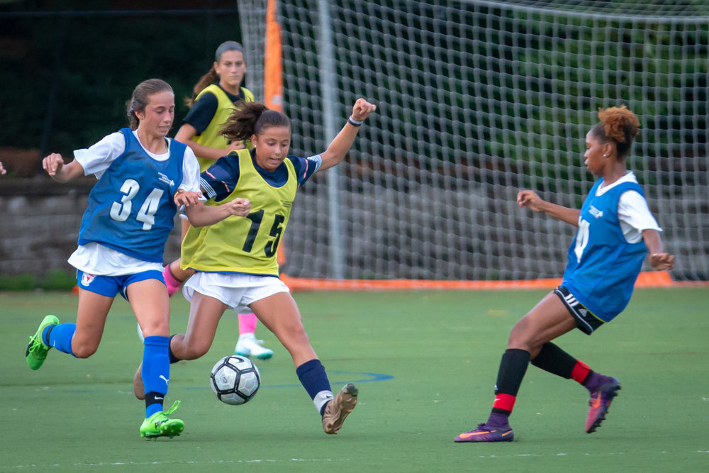 Competitive soccer tournament in Massachusetts