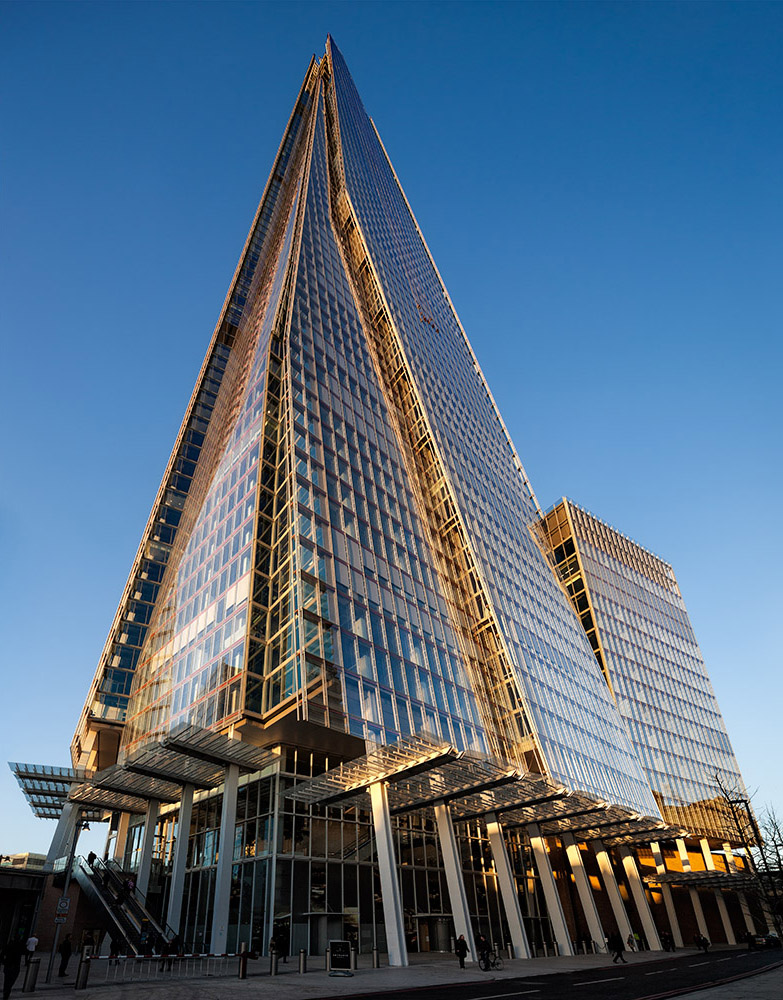The Shard, London.   Architect: Renzo Piano
