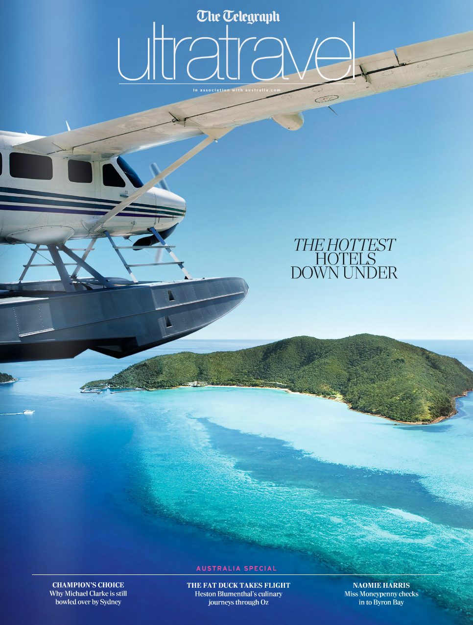 Ultratravel - The Daily Telegraph's luxury travel magazine -  click to view magazine