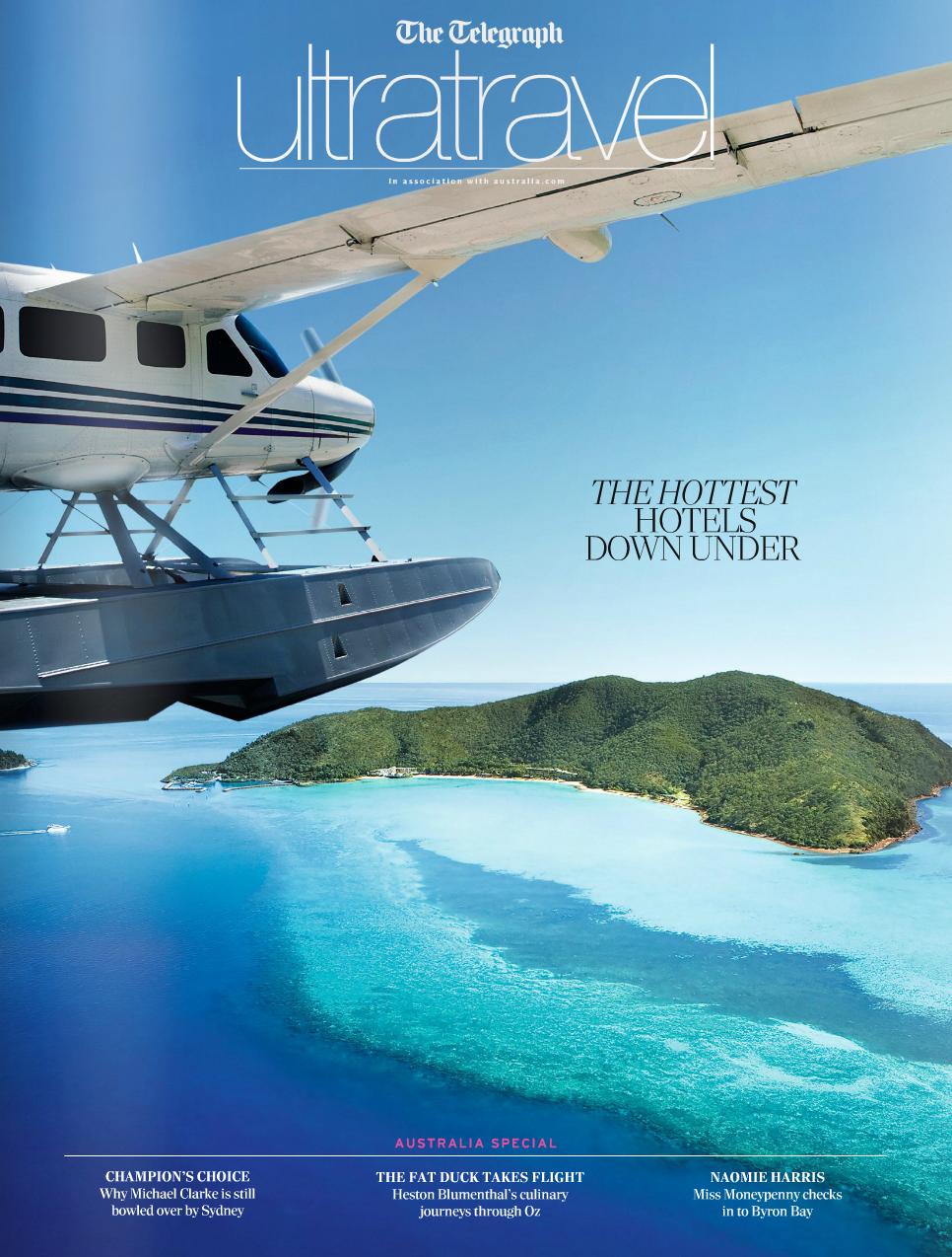 Ultratravel - The Daily Telegraph's luxury travel magazine -  click to view magazine