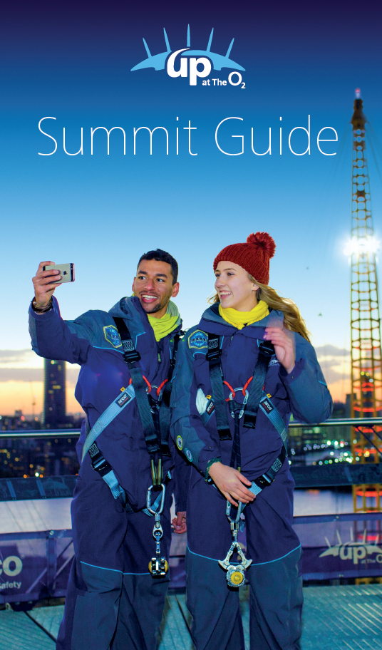 Cover of soft back version of Up at The O2 Summit Guide