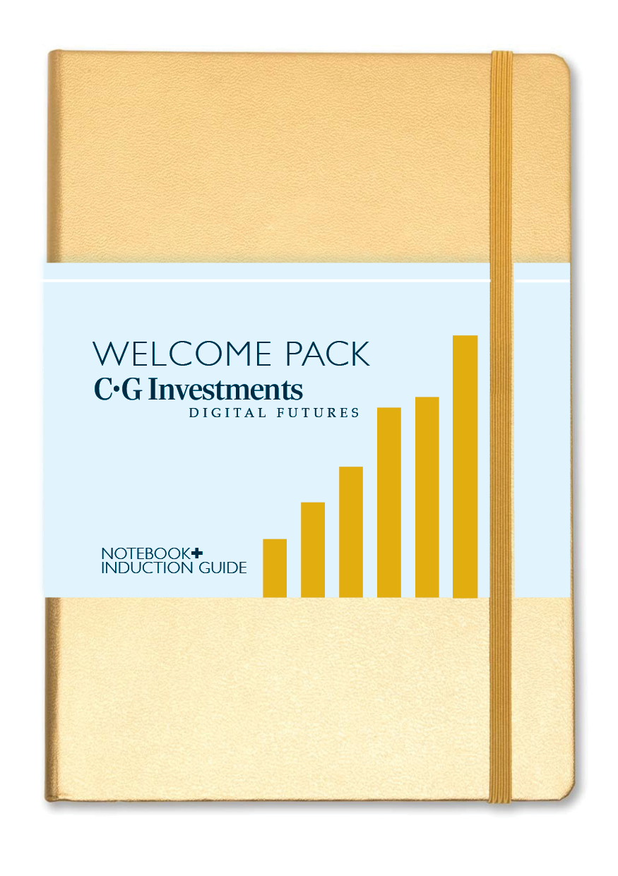 WELCOME NOTEBOOK+  for new employees at C.G Investments plus a complete induction guide to the company