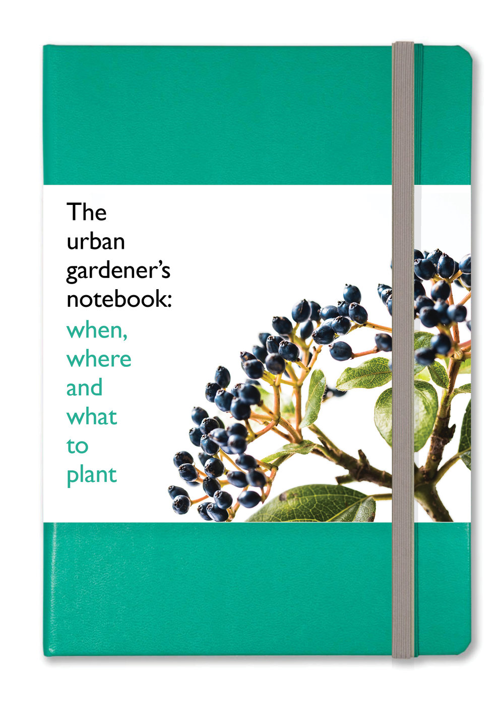 Gardener's NOTEBOOK+ with a wraparound calendar and guide to planting