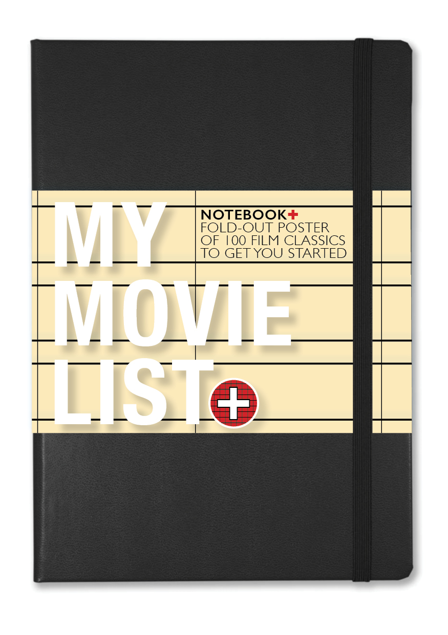 Film NOTEBOOK+  a journal to record and review all the movies you watch and a poster of 100 classics to inspire you