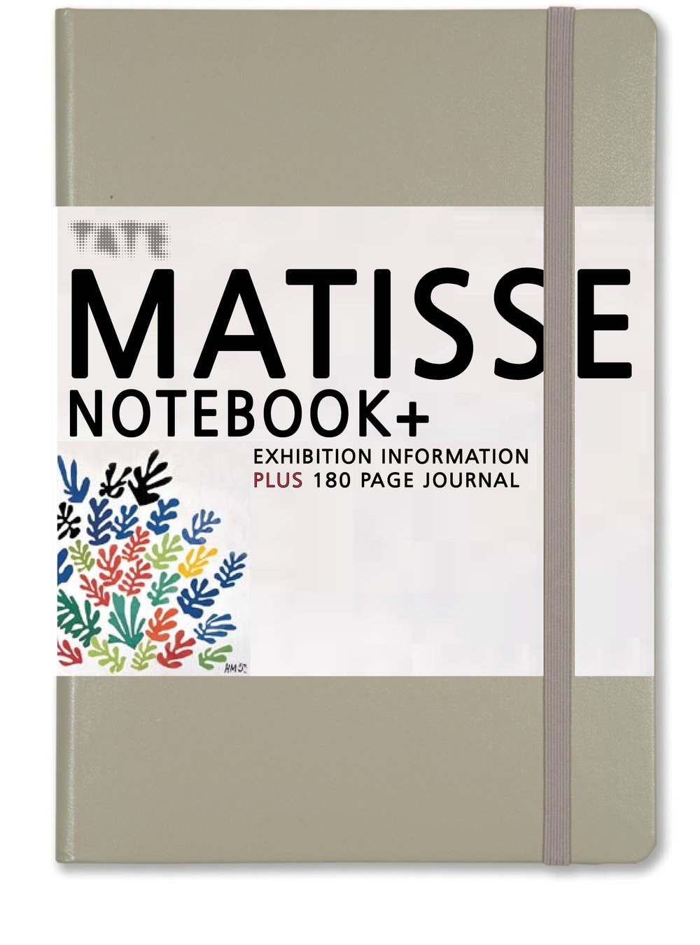 GALLERY NOTEBOOK+  featuring a wraparound guide to Matisse's work plus a 190 pages of plain paper for sketching